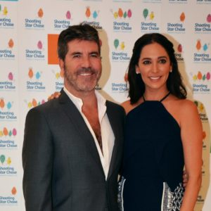 Vice President Simon Cowell and Patron Lauren Silverman