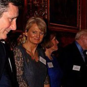 Tony Hadley meeting The Queen