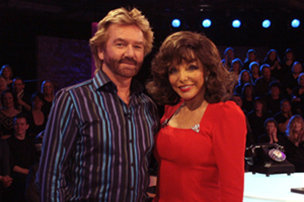 P11 annual review Joan Collins Deal or No Deal