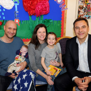 Family with David Walliams