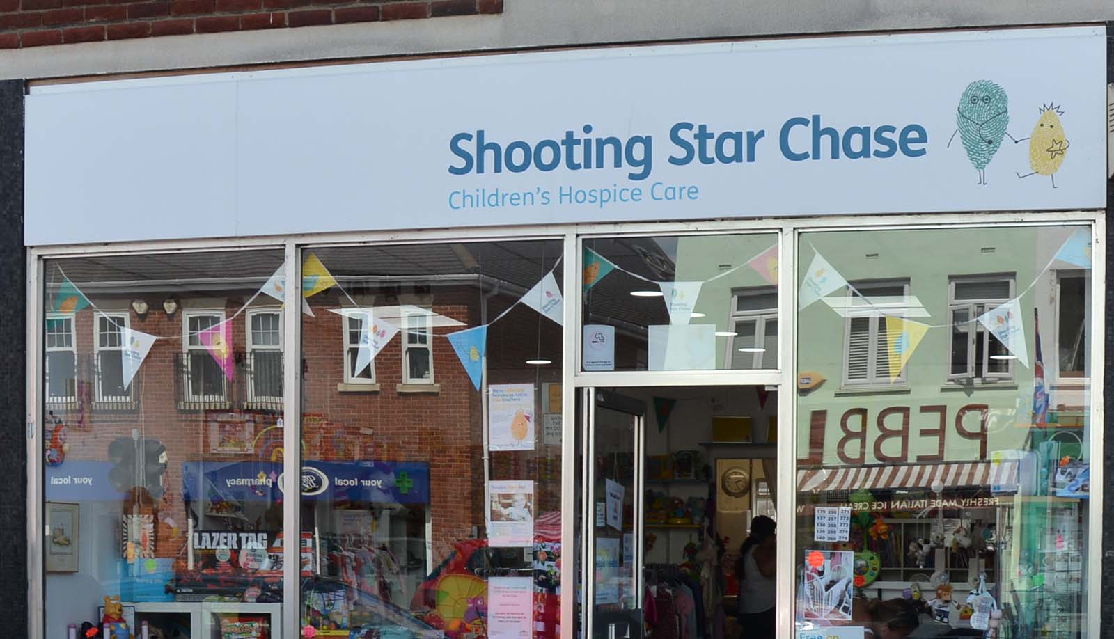 charity shop in ashford middlesex shooting star chase. Black Bedroom Furniture Sets. Home Design Ideas