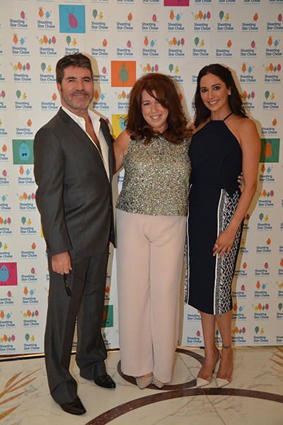 Vice President Simon Cowell, Director of Fundraising Karen Sugarman and Patron Lauren Silverman