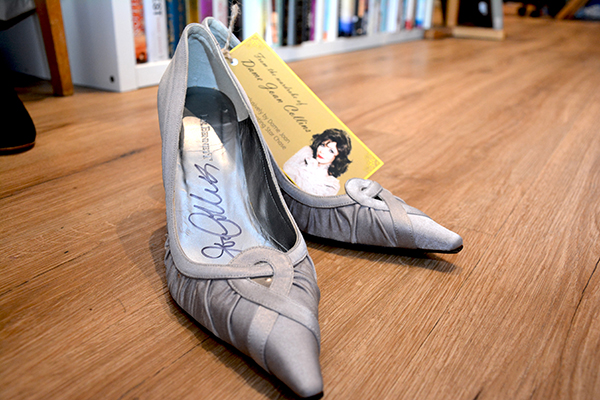 signed-shoes-donated-by-dame-joan-collins