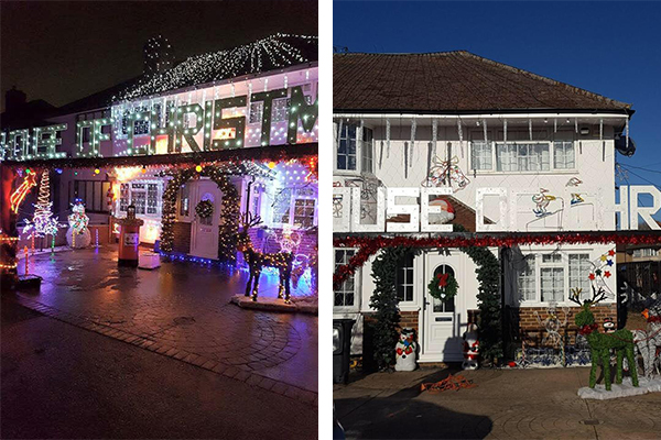 Jason Hoban And His Wife Lisa Have Been Decorating Their House In Longford Avenue Bedfont For The Past 25 Years 2016 Is No Diffe