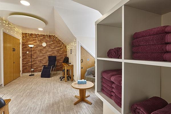 Christopher's refurb - complementary therapy