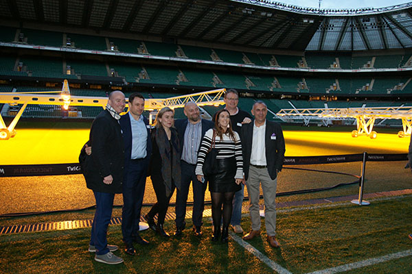 Corporate Thank You Event - Twickenham Stadium