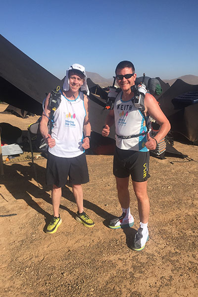 Challenger of the month - Keith & Colin Haylock