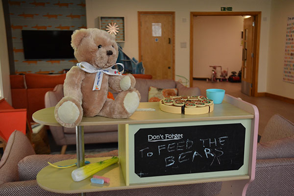 Teddy Bear's Picnic at Christopher's