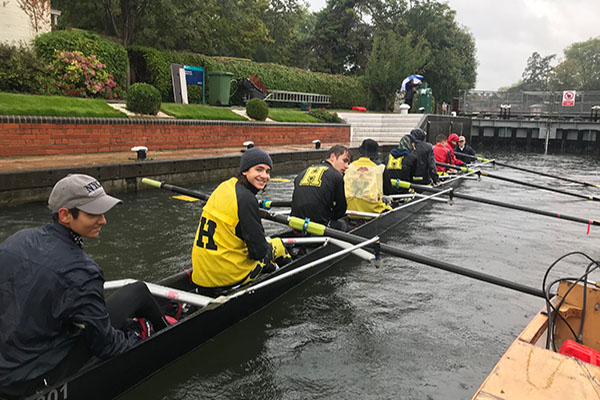 Hampton School Charity River Row